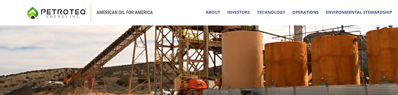 Patented Tech Stock Petroteq Energy Inc. (OTC: PQEFF) is a Clean Energy Provider that Extracts Heavy Oil and Bitumen from Oil Sands