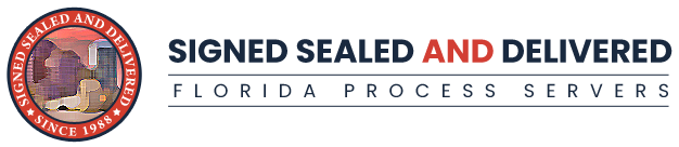 Signed, Sealed, and Delivered Expands Process Service Offerings for Florida's Law Firms, Insurance Companies, Government Agencies, and Corporations