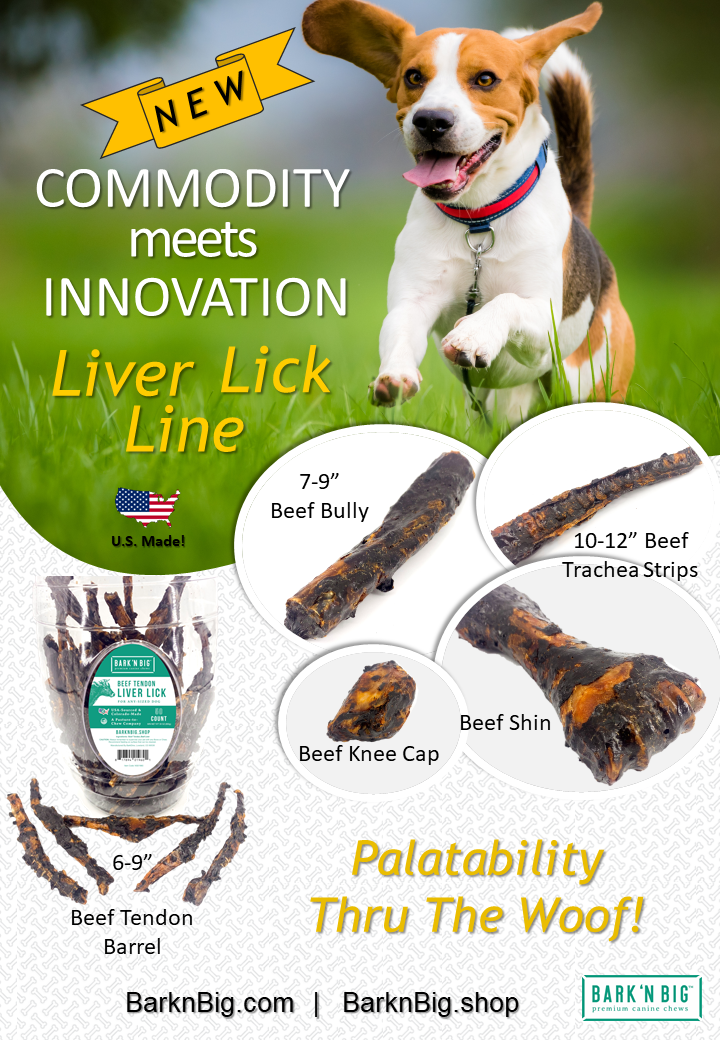 BarknBig Liver Lick New Product Launch